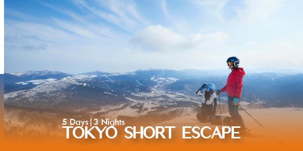 5D TOKYO SHORT ESCAPE